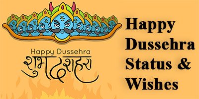 Happy Dussehra Status Wishes Messages
