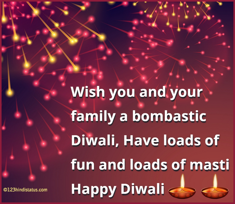 diwali whatsapp status hindi