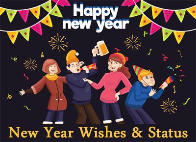 new year status wishes